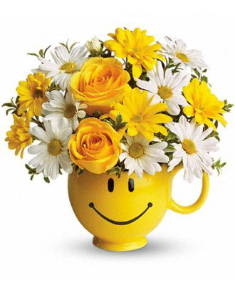 Flowers for usa - Teleflora's Be Happy Bouquet flowers