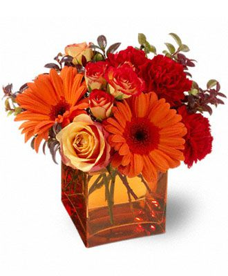 Flowers for usa - Teleflora's Sunrise Sunset flowers
