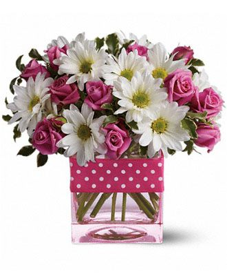 Flowers for usa - Teleflora's Polka Dots and Posies flowers