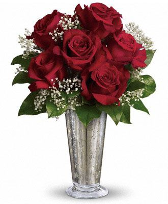 Flowers for usa - Teleflora's Kiss of the Rose flowers