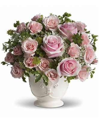 Flowers for usa - Teleflora's Parisian Pinks flowers