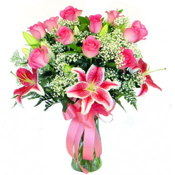 Spain flowers  -  Pink Petals Flower Delivery