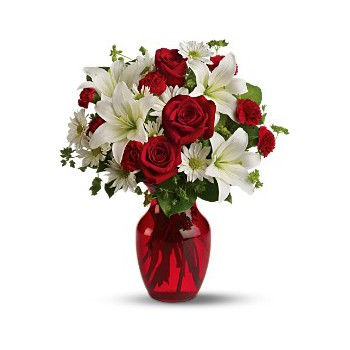 Malaga flowers  -  Love Bird Flower Bouquet/Arrangement