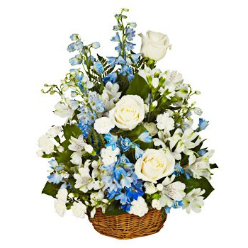 Umm Al Quwain flowers  -  Blue Lagoon Flower Bouquet/Arrangement