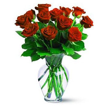 Ajman online Florist - Red Sunset Bouquet