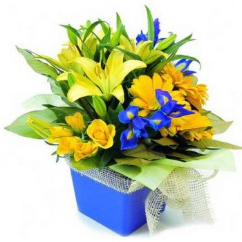 Mijas / Mijas Costa flowers  -  Happy Face Flower Bouquet/Arrangement