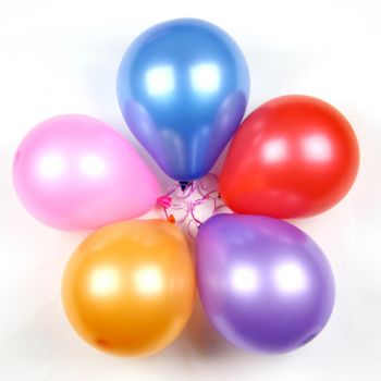 Boston Fleuriste en ligne - 5 ballons mixtes Bouquet