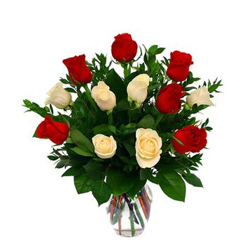 Beirut flowers  -  I Love you Roses Flower Bouquet/Arrangement