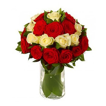 Madrid flowers  -  Affair of the Heart Flower Bouquet/Arrangement