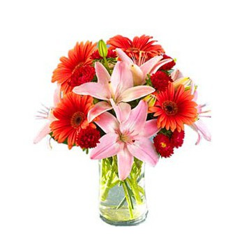 Malaga flowers  -  Sangria Flower Bouquet/Arrangement