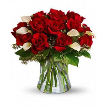 Ajman Blumen Florist- Circle of Love Bouquet/Blumenschmuck