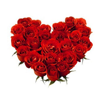 Sharjah flowers  -  Precious Heart Flower Bouquet/Arrangement