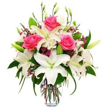 Ajman flowers  -  Pretty Pinks Flower Bouquet/Arrangement
