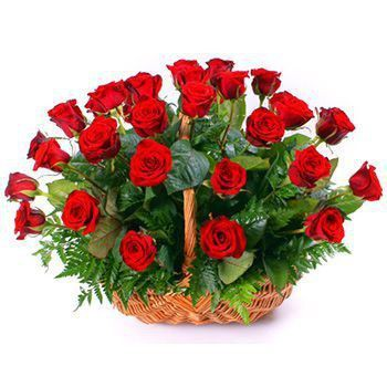 Lodz flowers  -  Ruby Amore Flower Bouquet/Arrangement