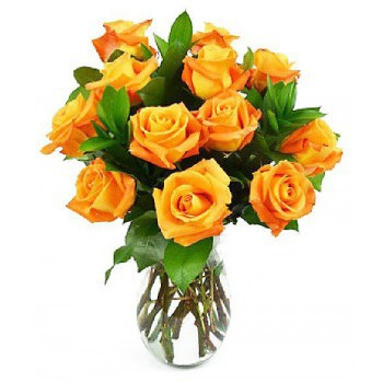Ibiza flowers  -  Golden Delight Flower Bouquet/Arrangement