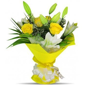 Latvia flowers  -  Sunny Day Flower Bouquet/Arrangement