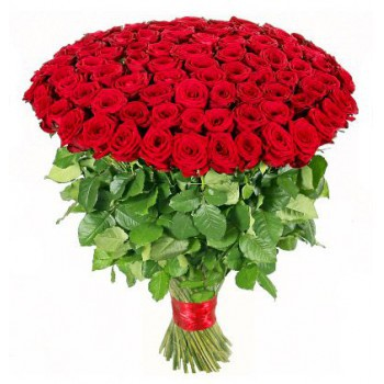 Casablanca flowers  -  Straight from the Heart Flower Bouquet/Arrangement