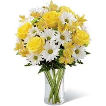 Malaga flowers  -  Blazing Beauty Flower Bouquet/Arrangement