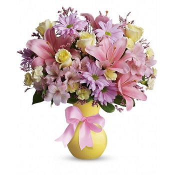 Doha flowers  -  Victorian Romance Flower Bouquet/Arrangement