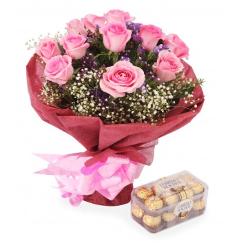 Dubai online Florist - Romance and Love Bouquet