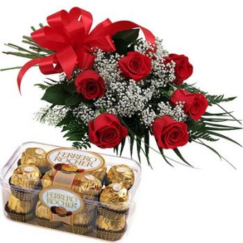 Doha online Florist - In the name of Love Bouquet