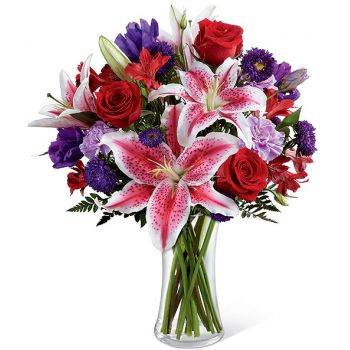 fleuriste fleurs de Ajman- Douce perfection Bouquet/Arrangement floral