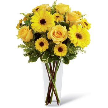 fleuriste fleurs de Wellington- Affection Bouquet/Arrangement floral
