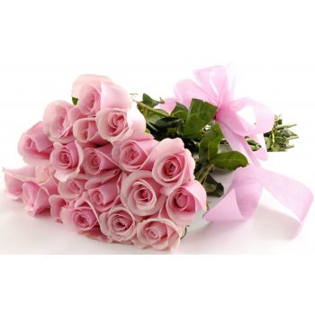 tenerife pretty pink flower delivery 20 soft pink roses pretty pink mightylinksfo