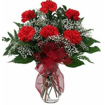 Jerusalem flowers  -  Sentiment Flower Bouquet/Arrangement