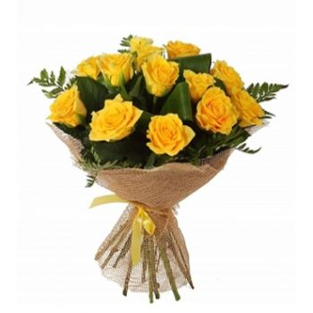 novosibirsk simply beautiful flower delivery 11 yellow roses novosibirsk flowers simply beautiful flower bouquetarrangement mightylinksfo