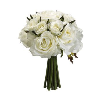 Mijas / Mijas Costa flowers  -  Classic White Romance Flower Bouquet/Arrangement