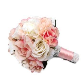 barbados pink romance flower delivery pink and white roses barbados flowers pink romance flower bouquetarrangement mightylinksfo