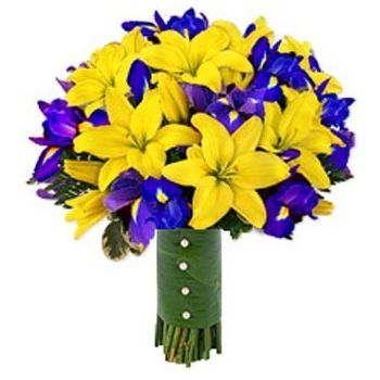 Tenerife flowers  -  Spring Romance Flower Bouquet/Arrangement
