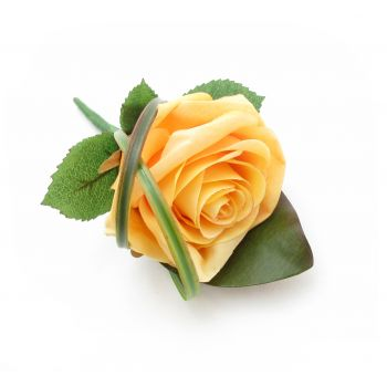 Pau flowers  -  Rose Buttonhole Flower Delivery