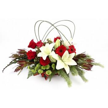 Central Thailand flowers  -  Splendor Flower Bouquet/Arrangement