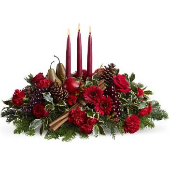New York Fleuriste en ligne - Noel Bouquet