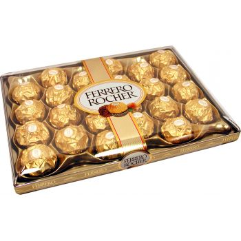 Dubai flowers  -  Ferrero Rocher Chocolates Flower Delivery