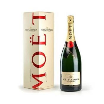 Madrid online Florist - Champagne Moët & Chandon Bouquet