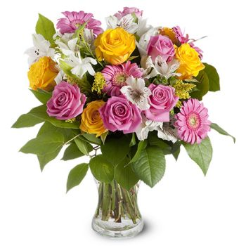 Macedonia flowers  -  Stunning Beauty Flower Bouquet/Arrangement