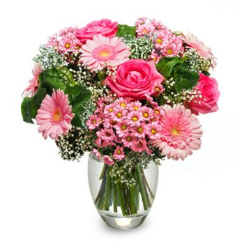 fleuriste fleurs de Varsovie- Belle dame Bouquet/Arrangement floral