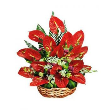 Grenada flowers  -  Happiness Flower Bouquet/Arrangement