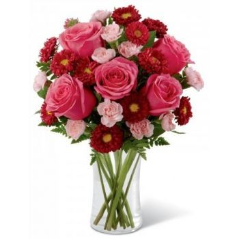 Casablanca flowers  -  Girl Power Flower Bouquet/Arrangement