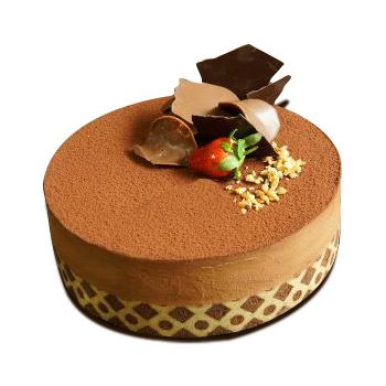 Indonesia flowers  -  Tiramisu Chocolate Flower Delivery