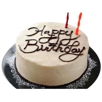 Bali Online Florist - Happy Birthday Cake Bukett
