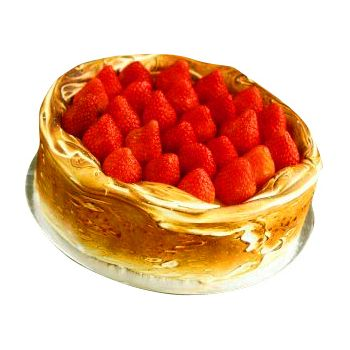 Singapore flowers  -  Strawberry Cheese Cake Flower Delivery