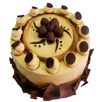 Indonesia flowers  -  Mocca Creamy Cake Flower Delivery