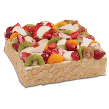 Singapore bloemen bloemist- Fruit Shortcake Bloem Levering