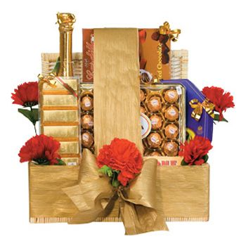Jakarta flowers  -  Chocolate Hamper Flower Delivery