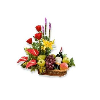 Anguilla flowers  -  Tropical Celebration Flower Delivery