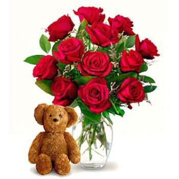 India online Florist - Secret Admirer Bouquet